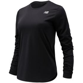 New Balance Accelerate LS Shirt Women, zwart